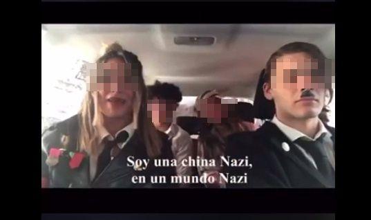 Los alumnos se burlaron del sufrimiento de los judíos durante la Shoá