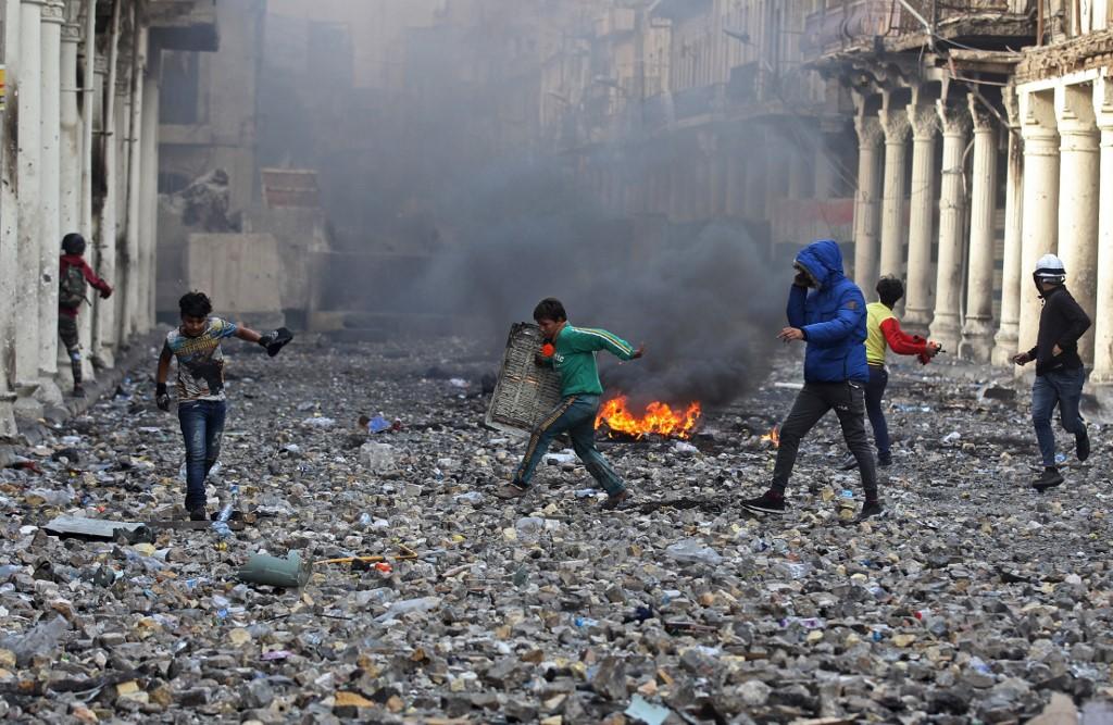 Las protestas continúan en Irak