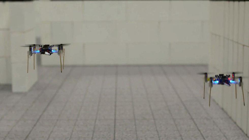 Mini drones con navegación inteligente