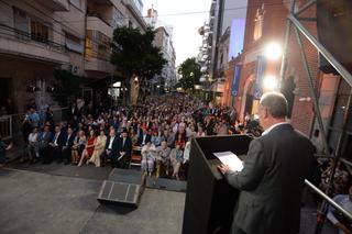 850 personas se hicieron presentes para la inauguración.