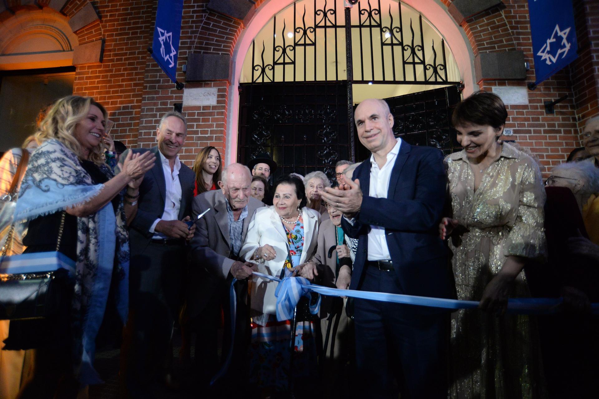 Inauguración Museo Holocausto