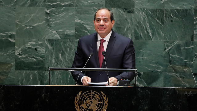 Las señales indican que lo que dice al-Sisi no es palabrería.