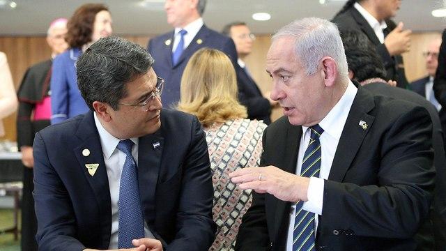 El presidente José Orlando Hernández planea trasladar su embajada a Jerusalem muy pronto