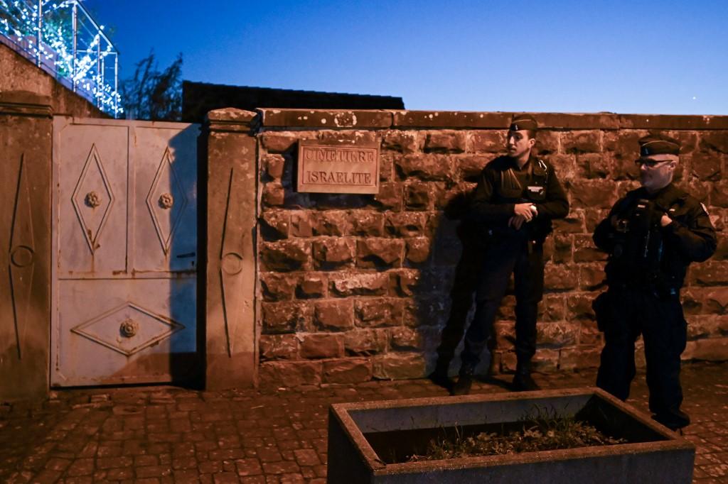 Cementerio judío profanado en Westhoffen