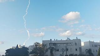 Prueba de lanzamiento de misiles en el centro de Israel el viernes