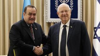 """Alejandro Giamattei: """"Los enemigos de Israel son los enemigos de Guatemala"""""""