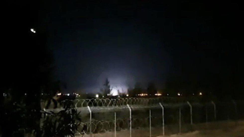 Bombardeo de las FDI sobre posiciones de Hamás en Gaza