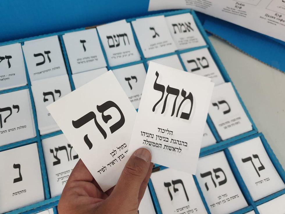 Los israelíes se encaminan a una tercera ronda electoral