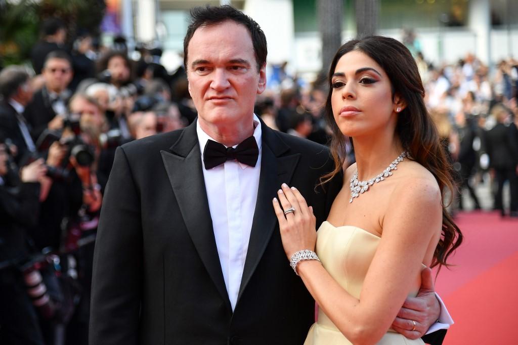 Quentin Tarantino y su esposa israelí Daniella Pick