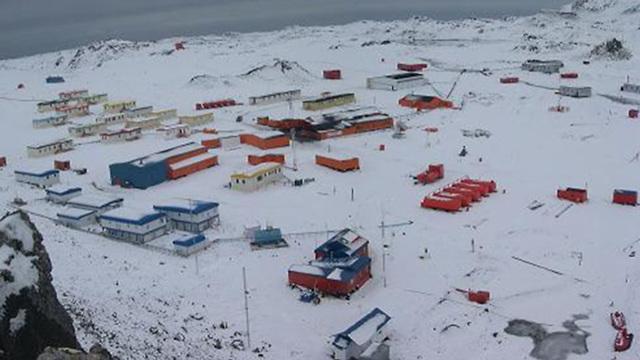 Base chilena en la Antártida a la que se dirigía el avión