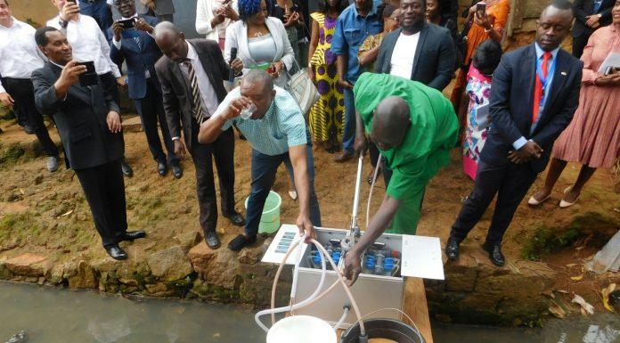 NUFiltration fue utilizada en Camerún para combatir una epidemia de cólera