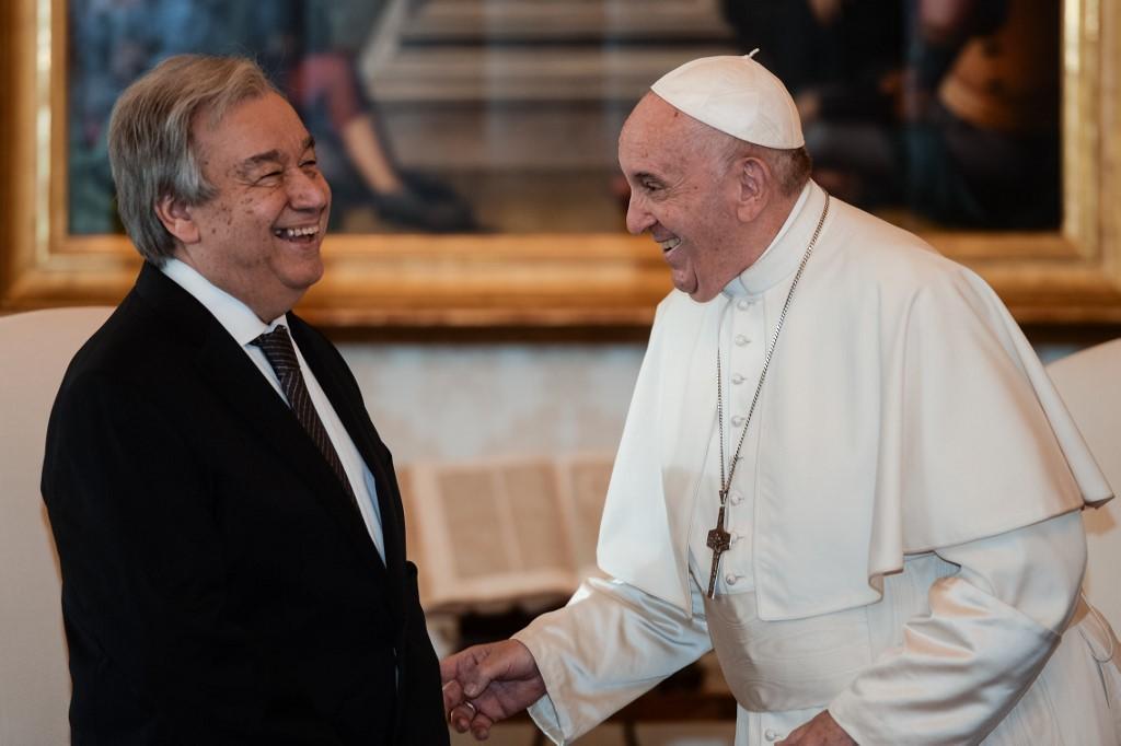 Image result for El papa y la ONU contra el fanatismo religioso