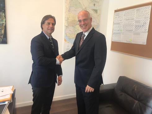 Lacalle Pou embajador de Israel