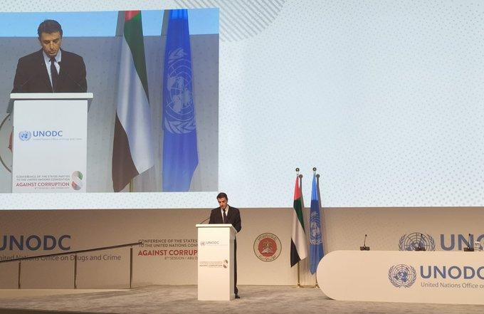 Convención de las Naciones Unidas contra la Corrupción en Abu Dabi