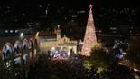 El gran árbol de navidad en Nazaret