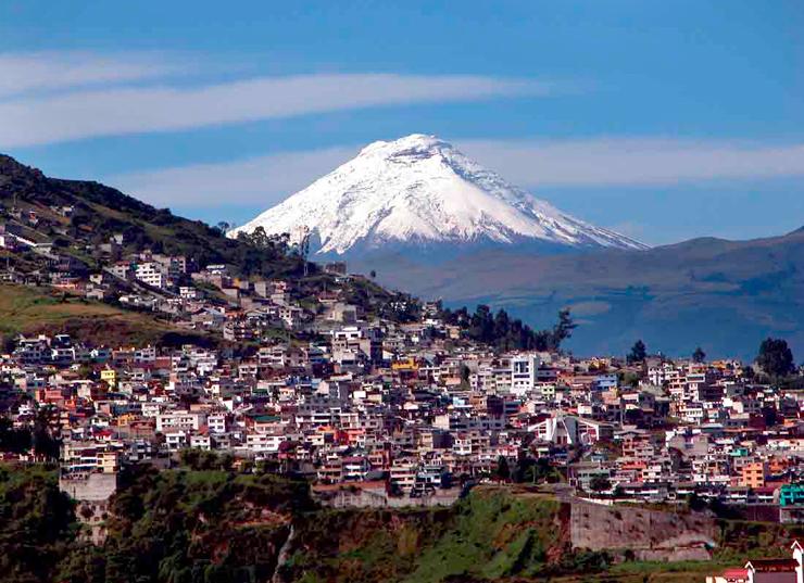 Volcán Cotopaxi, Ecuador.