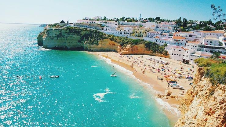 El Algarve, Portugal.