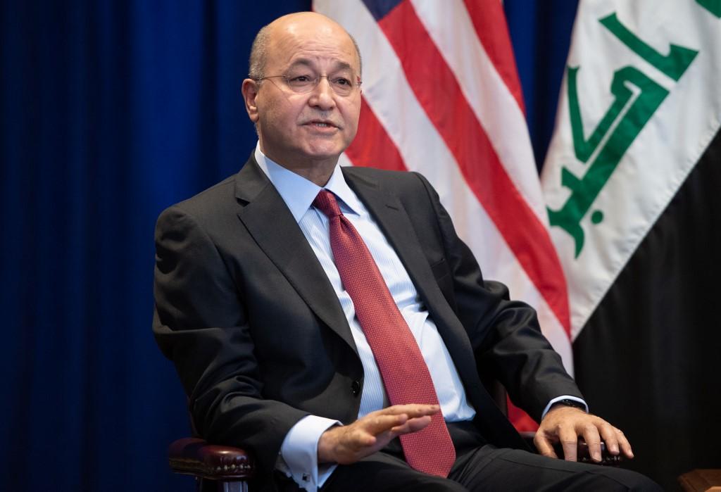 Barham Saleh condenó el ataque iraní en Irak
