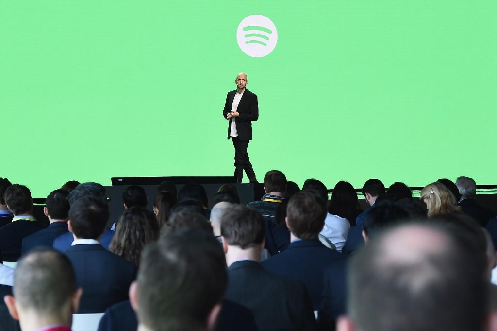 El fundador y director de Spotify, Daniel Ek
