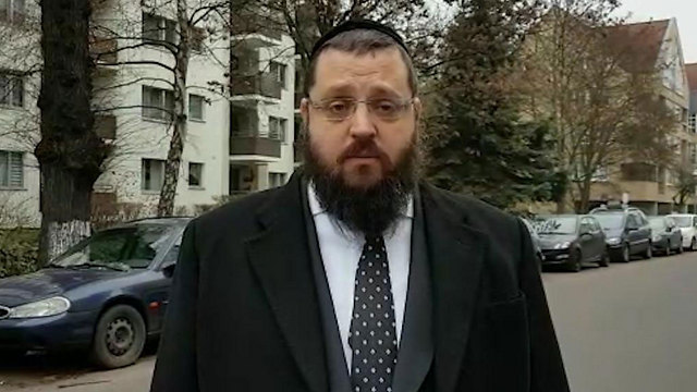 El rabino de Berlín, Yehuda Taichtel, participó de la histórica ceremonia en Abu Dabi