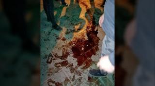 Sangre en las calles de Teherán durante el homenaje a las víctimas del avión ucraniano derribado por Irán