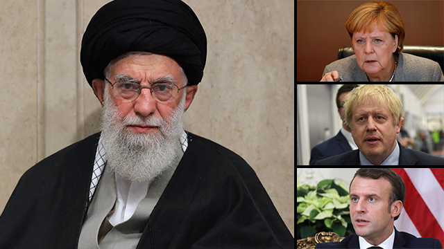 Los líderes europeos intentan presionar al líder supremo iraní, Alí Jamenei, para que respete el acuerdo nuclear