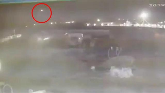 El segundo misil alcanza al avión ucraniano