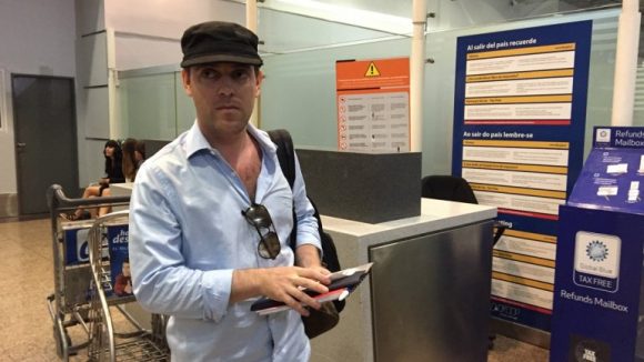 Damián Pachter abandonó Argentina en 2015