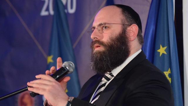 Menajem Margolin, director de la Asociación de Organizaciones Judías en Europa
