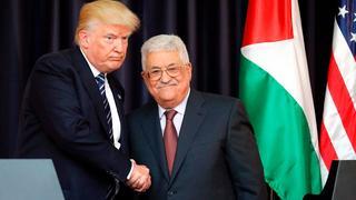Trump y Abbas en 2017