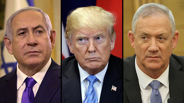Netanyahu Trump Gantz