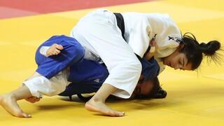 Gefen Primo durante la competencia nacional de judo