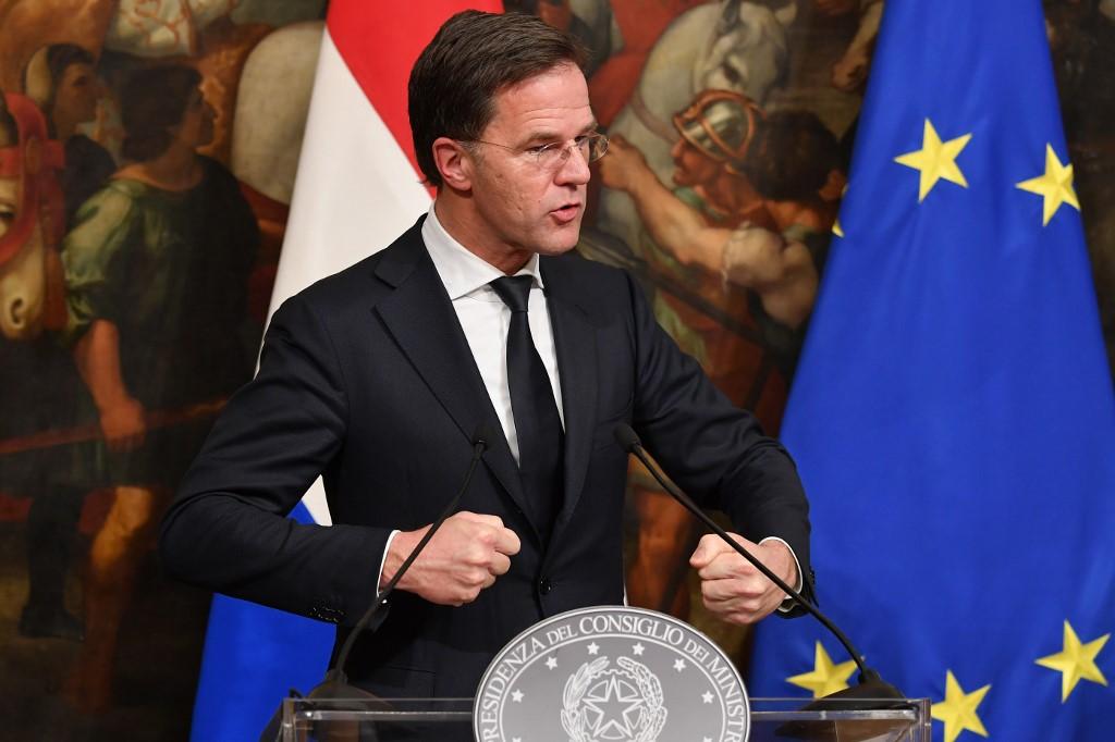 """Mark Rutte, primer ministro holandés: """"presento hoy mis disculpas en nombre del gobierno por la acción de las autoridades de la época"""""""