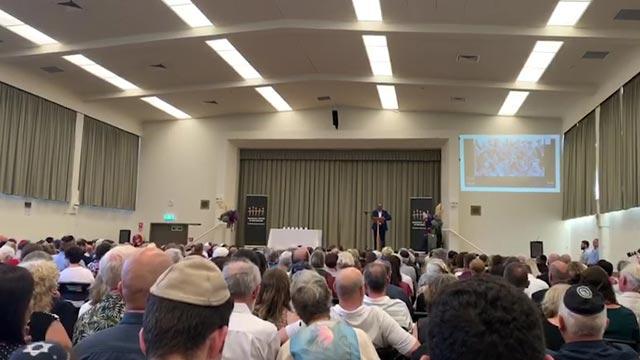La ceremonia incluyó una plegaria en maorí.