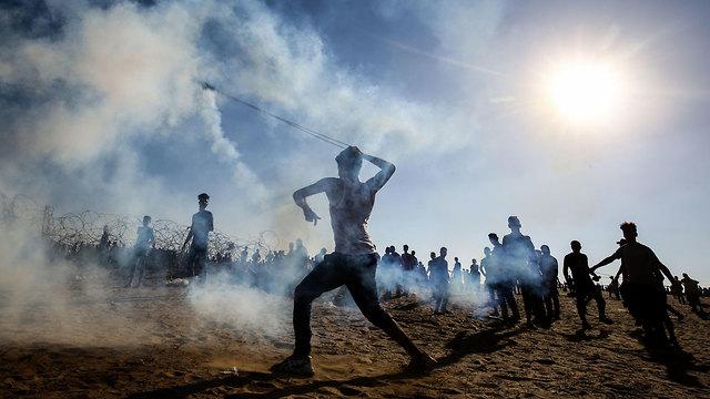 Los palestinos se preparan para el 'día de furia' (imagen de archivo)