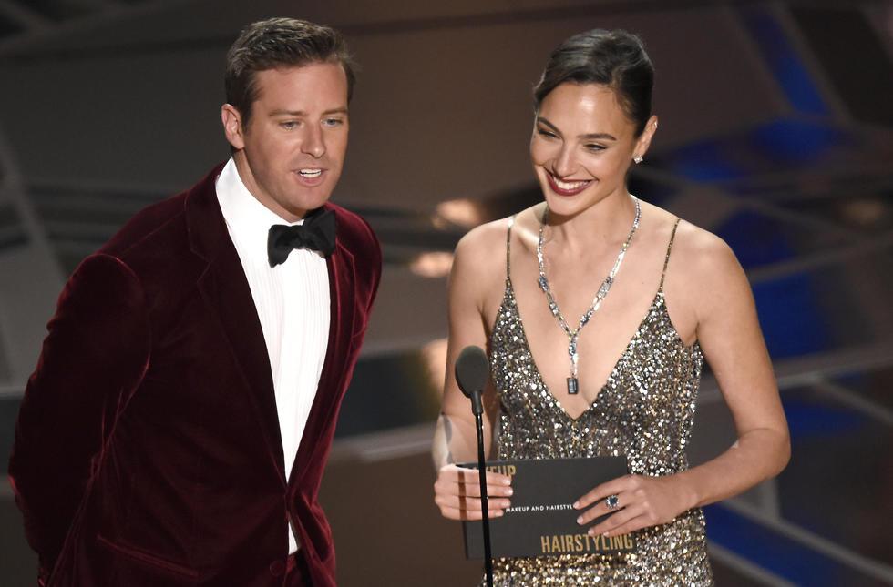 Gal Gadot en la ceremonia de los Óscar en 2018