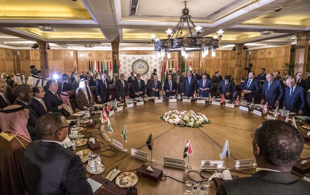 Reunión de la Liga Árabe en El Cairo