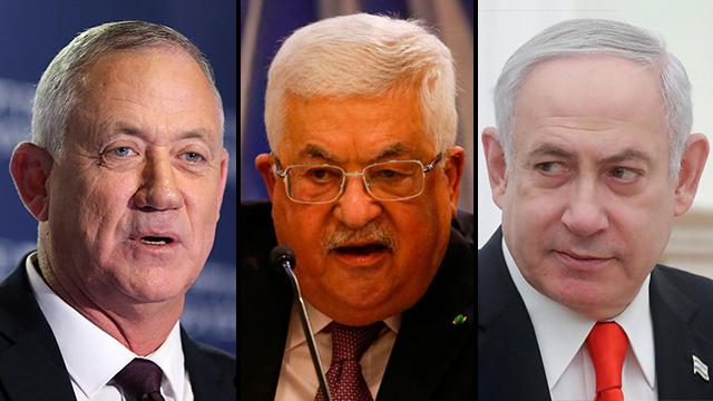 Duras críticas de Netanyahu y Gantz a Abbas