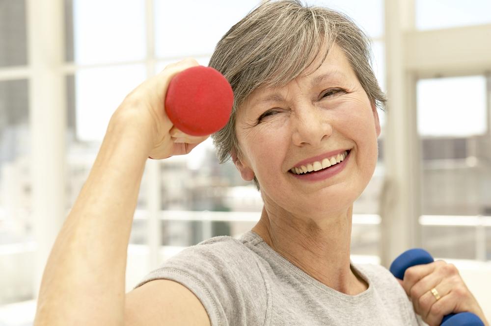 Ancianos ejercicio