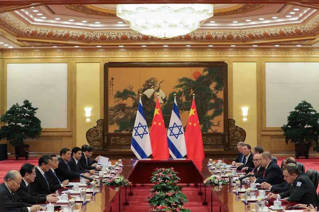 """Lewi: """"Israel y tiene mucho respeto por la lucha del gobierno chino"""""""