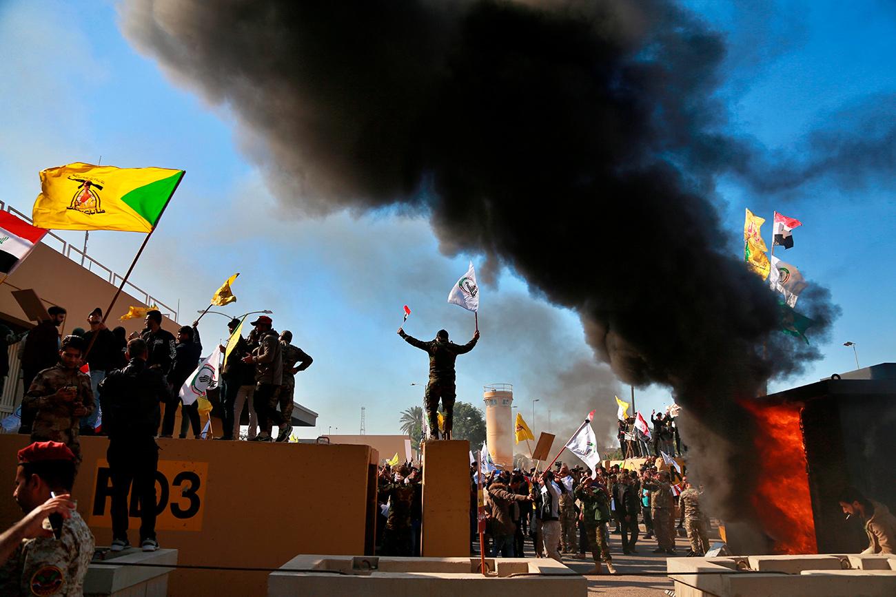 Protesta Irak