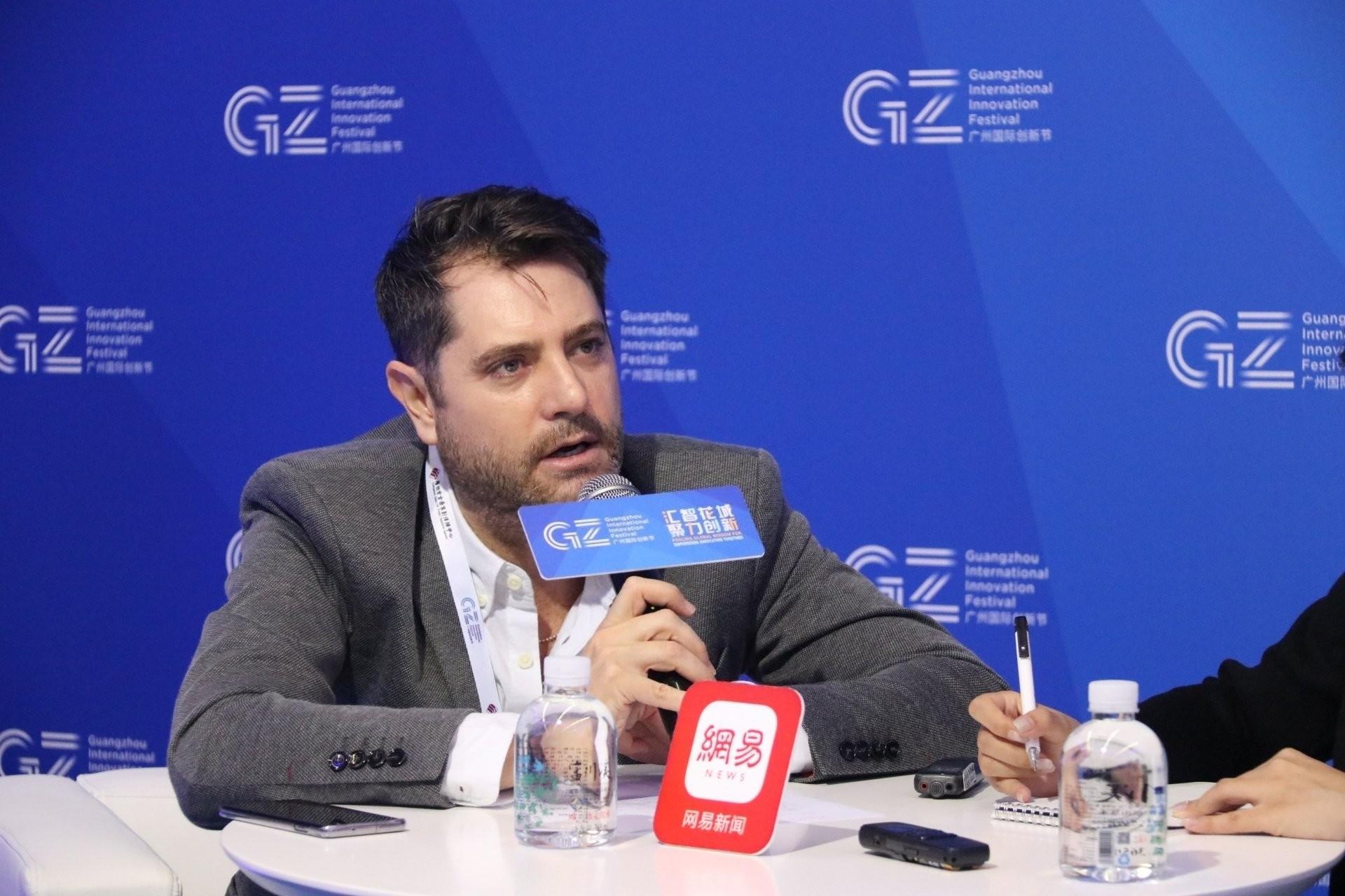 Peleg Lewi, cónsul general de Israel en Guangzhou