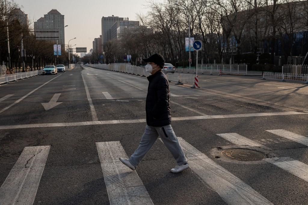 Coronavirus: las ciudades chinas permanecen prácticamente desiertas.
