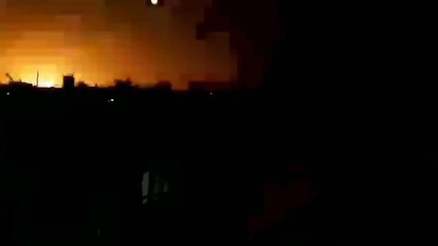 Bombardeos contra objetivos de Hamás en Gaza