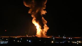 Fuerte respuesta israelí contra posiciones de Hamás