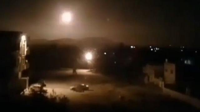 Bombardeo en Siria atribuido a Israel