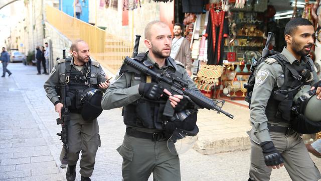 Fuerte presencia de las fuerzas israelíes en Jerusalem