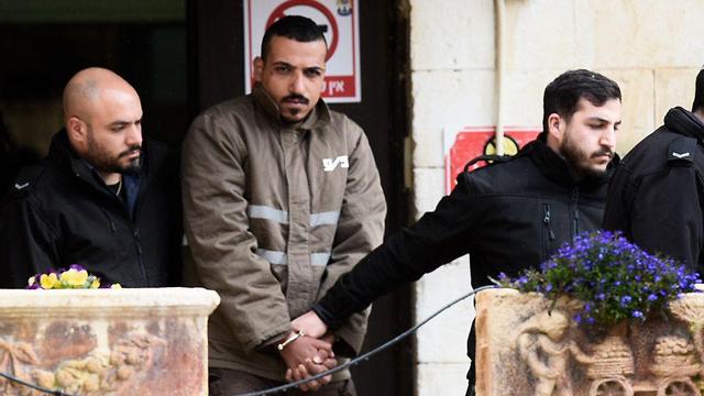 Sand al-Turman fue detenido por la policía luego del ataque contra soldados israelíes