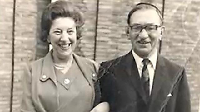 Karl y su esposa Betty Abrahams