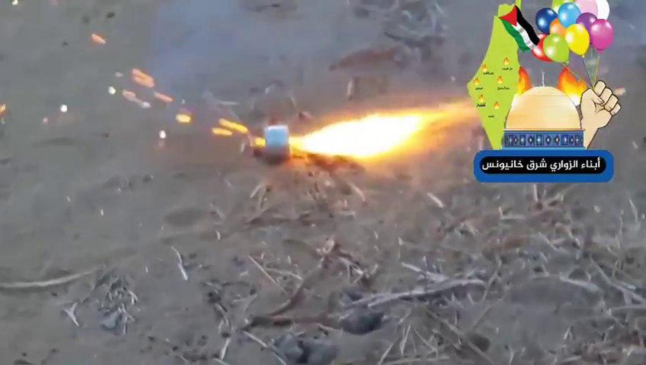 La 'unidad de globos' de Hamás ha amenazado con intensificar sus ataques